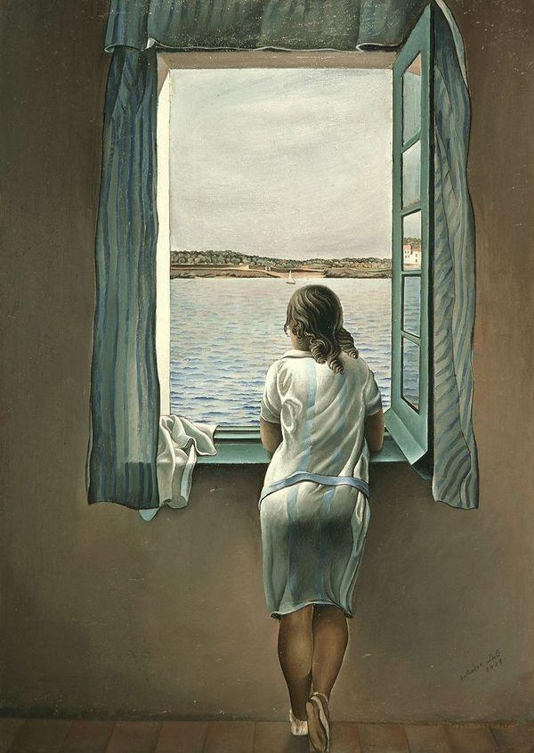 salvador-dali-muchacha-en-la-ventana
