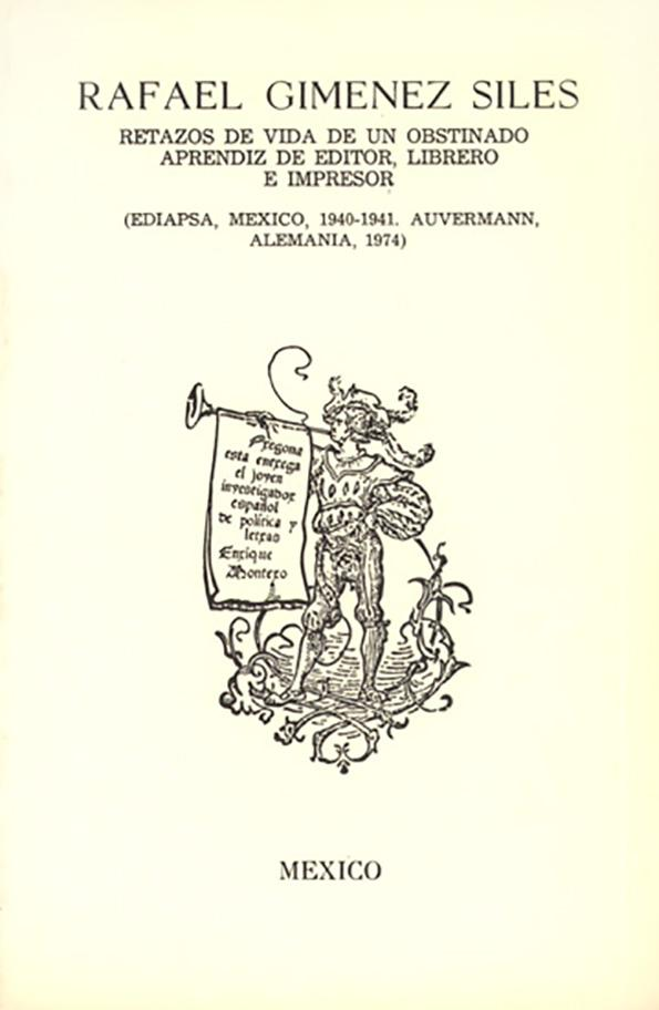 Libro de Giménez Siles