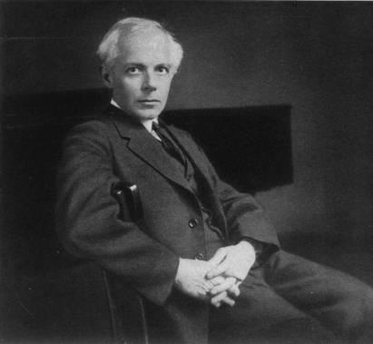 Béla Bartók (1881-1945). Documento de su hijo en su visita a México