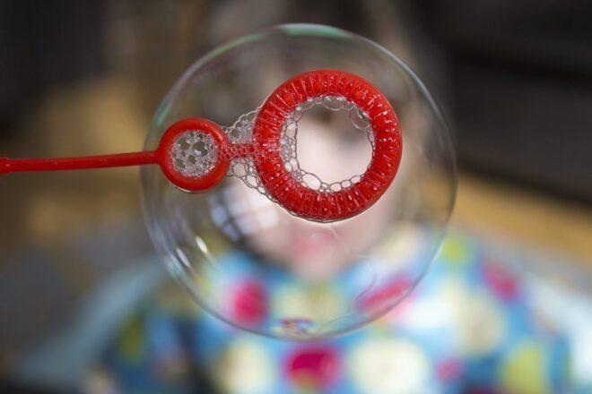 La vendedora de burbujas